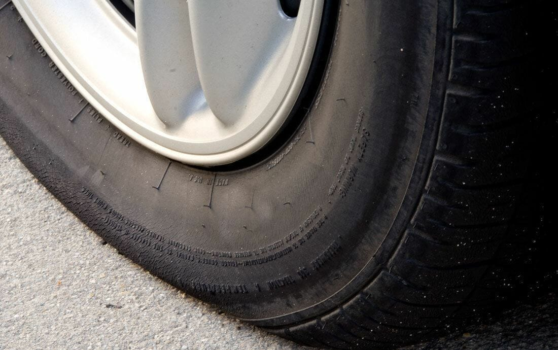 Types of Tire Damage